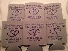 personalized wedding koozies wedding koozies ebay