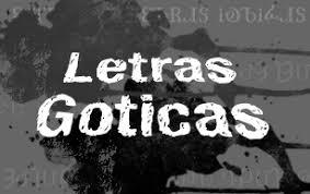 imagenes letras goticas nombres letras goticas abecedario letras facebook