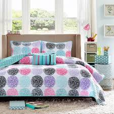 Teal And Purple Comforter Sets Shop Mizone Carly Purple Bed Linens The Home Decorating Company