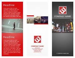 brochures templates business bank brochure template word publisher