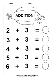 addition 6 worksheets printable worksheets pinterest