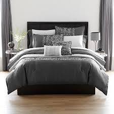 cheap dark grey comforter set find dark grey comforter set deals