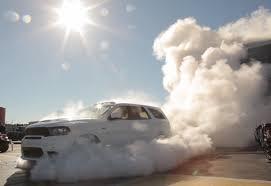 jeep durango 2018 watch 2018 dodge durango srt burnout