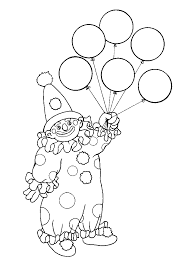 clown coloring pages scary clown coloring page free printable