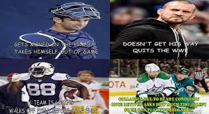 Football Player Meme - hockey fans using rich peverley to shit on lebron james are the worst