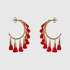 earing image tassel earring cherry mignonne gavigan