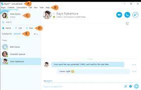 skype bureau windows 8 how do i find my way around skype for windows desktop skype support
