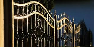 wrought iron handrails are a sturdy beautiful home décor element
