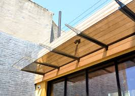 apartments glamorous wood paneling steel and canopies modern