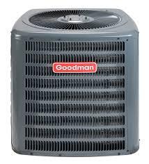 goodman gsx130241 2 ton 13 to 14 seer condenser r 410a refrigerant