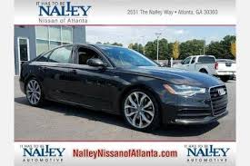a6 audi for sale used used audi a6 for sale in atlanta ga edmunds