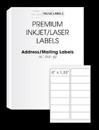 self adhesive labels for all printers houselabels print
