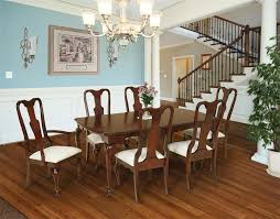 cherry wood dining table and chairs queen anne dining chairs