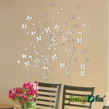 wall decor stickers online shopping 3d vase removable flower tree