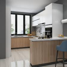 mixing kitchen cabinet wood colors economy melamine kitchen cabinet mix color kitchen cabinet foshan factory china furniture