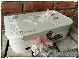 urne de mariage valise urne de mariage modèle moyen bon voyage