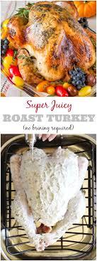no brine roast turkey sweet savory by shinee