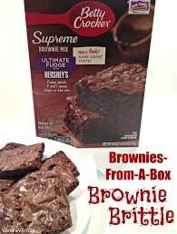 brownie brittle boxed brownie mix chewy crispy chocolate betty