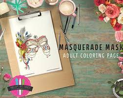 masquerade mask etsy