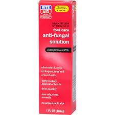 rite aid pharmacy antifungal liquid maximum strength 1 fl oz 30
