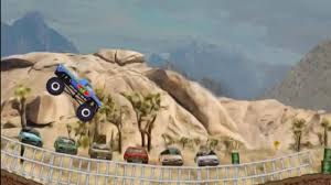 monster truck game video monster truck trip 3 monstrer truck game video youtube