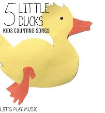 ducks swimming counting songs
