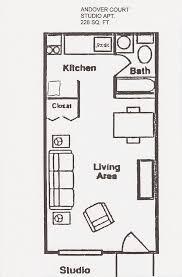 studio flat floor plan best efficiency apartment layout photos interior design ideas