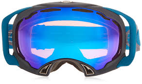 amazon com oakley splice ski goggles dark gunmetal blue irid