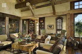 rustic great room with columns by locati architects zillow digs