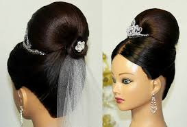 bridal wedding hairstyle for long hair wedding hairstyles for medium hair bun hairstyle picture magz
