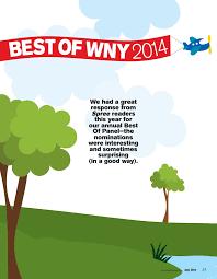 Superb Sample Of July 2014 by Buffalo Spree U0027s 2014 Best Of Wny Buffalo Spree July 2014