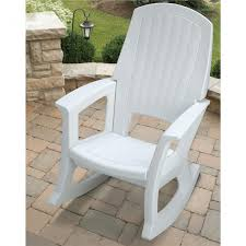 White Resin Patio Tables Captivating White Resin Patio Tables And Plastic Rocking Chair On