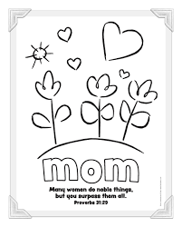 printable mothers day cards to color all coloring page