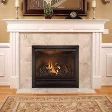 Dual Gas And Wood Burning Fireplace by Duluth Forge Full Size Dual Fuel Ventless Natural Gas Propane