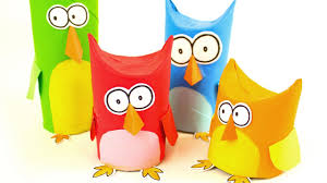 diy owl family toilet paper roll craft ideas on boxyourself