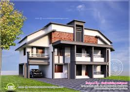 5 bedroom variety villa elevation house design plans