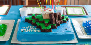 minecraft cuisine how to throw a minecraft themed birthday diy margarette
