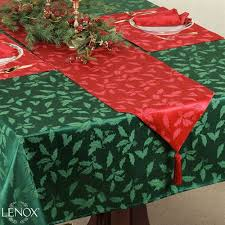 lenox damask table linens
