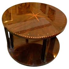 ruhlmann round style coffee table small tables art deco collection
