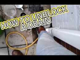 fixing a clogged drain how to fix a blocked drain greg s plumbing and heating services