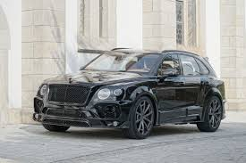 bentley bentayga 2016 mansory iteration bentley bentayga