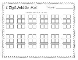 2 digit addition by ashley culbertson teachers pay teachers