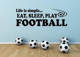 life is simple football boysteenager bedroom wall art vinyl life is simple football boysteenager bedroom wall art vinyl stickers decal