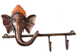 metal ganesha wall art wall mounted key holders buy now
