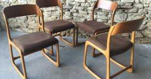 chaise traineau baumann chaises traineau archives couleur brocante pour intéressant chaise