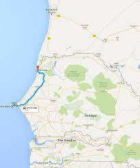 Dakar Senegal Map Dakar To St Louis Senegal Overland And Overnight In St Louis