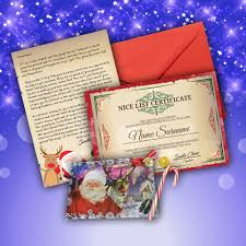 make believe mail from santa