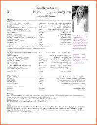 free acting resume template 5 6 actor resume template microsoft word formatmemo