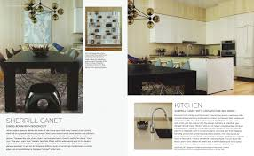Elle Decor Kitchens by Press Archives Sherrill Canet Interiors