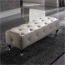 white round tufted ottoman 25 white leather ottomans square rectangle pertaining to white